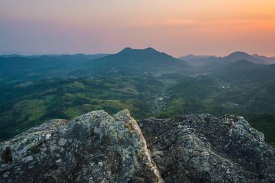 Iyogatake Sunset