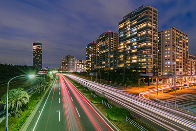Light Trails of Kaihin Makuhari
