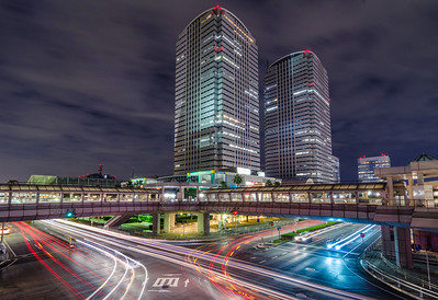 Twin Towers of Chiba City