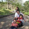 Sister Kayoko with Kids Yuka, Dosei & Miku.