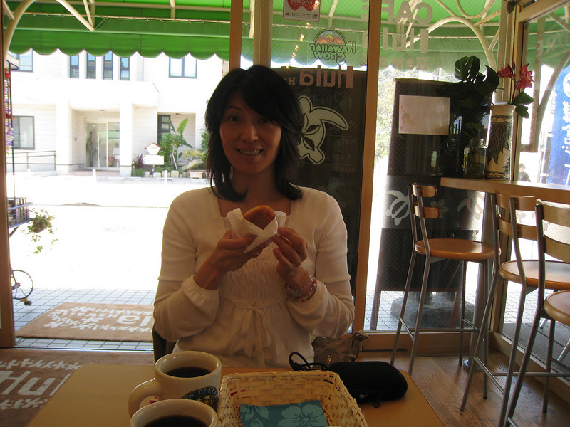 Naomi<br /> Hawaiian Cafe in Kamakura