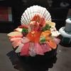 Sashimi assortment at Omicho Market (Kanazawa)