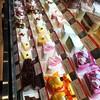 Impressive dessert section at a Tokyo supermarket