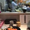Sushi breakfast at the Tsukiji Market (Tokyo)