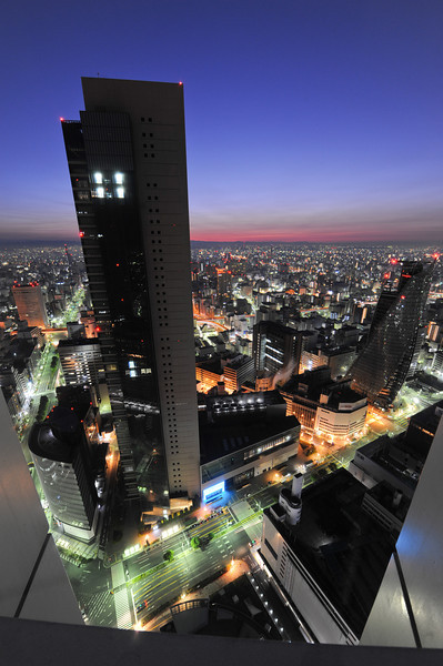 Monday morning in Nagoya.