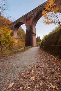 Autumn at Meganebashi Bridge