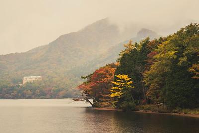 Autumn on Lake Haruna