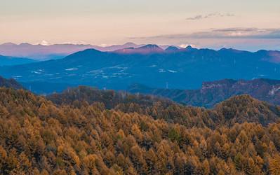 Gunma Autumn Mountains