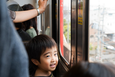 Some things are universal: Kids love trains.