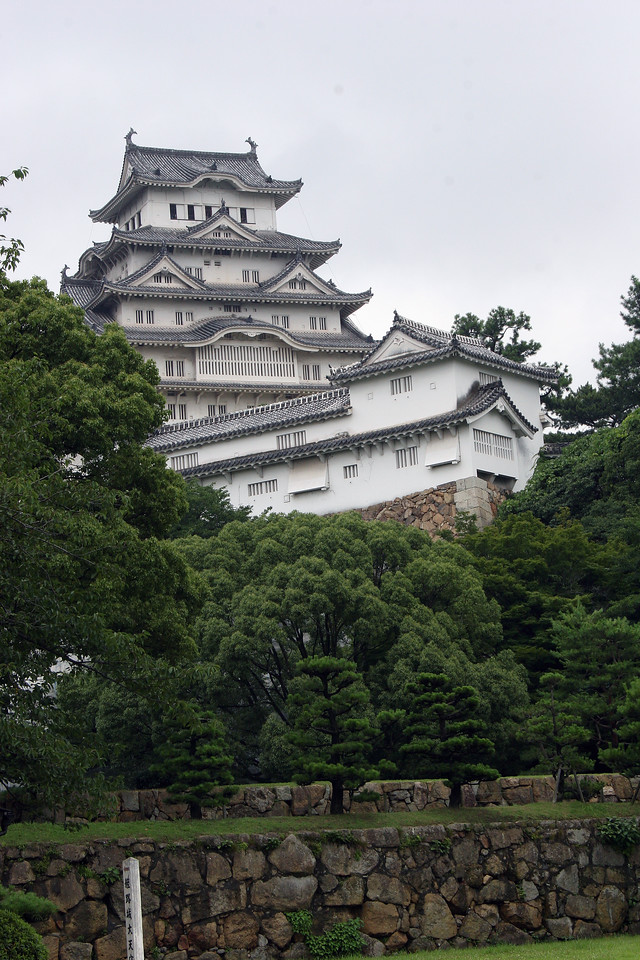 Himeji Castle is supposed to be the largest castel in Japan and definitly stands out.  Great day trip from Kyoto.