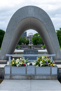Cenotaph for  Atomic Bomb Victims