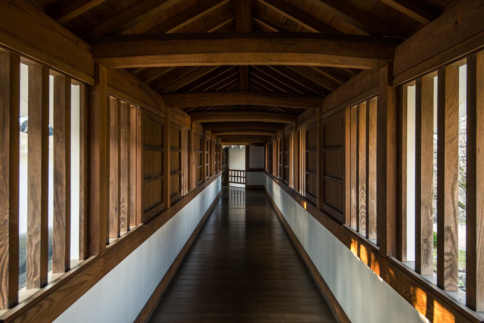 Himeji Castle West Bailey Hallway