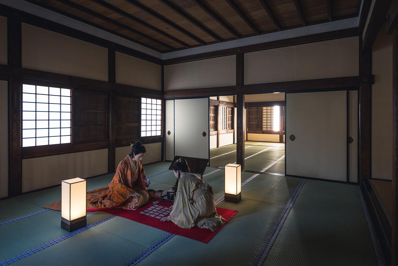 Himeji Castle Room