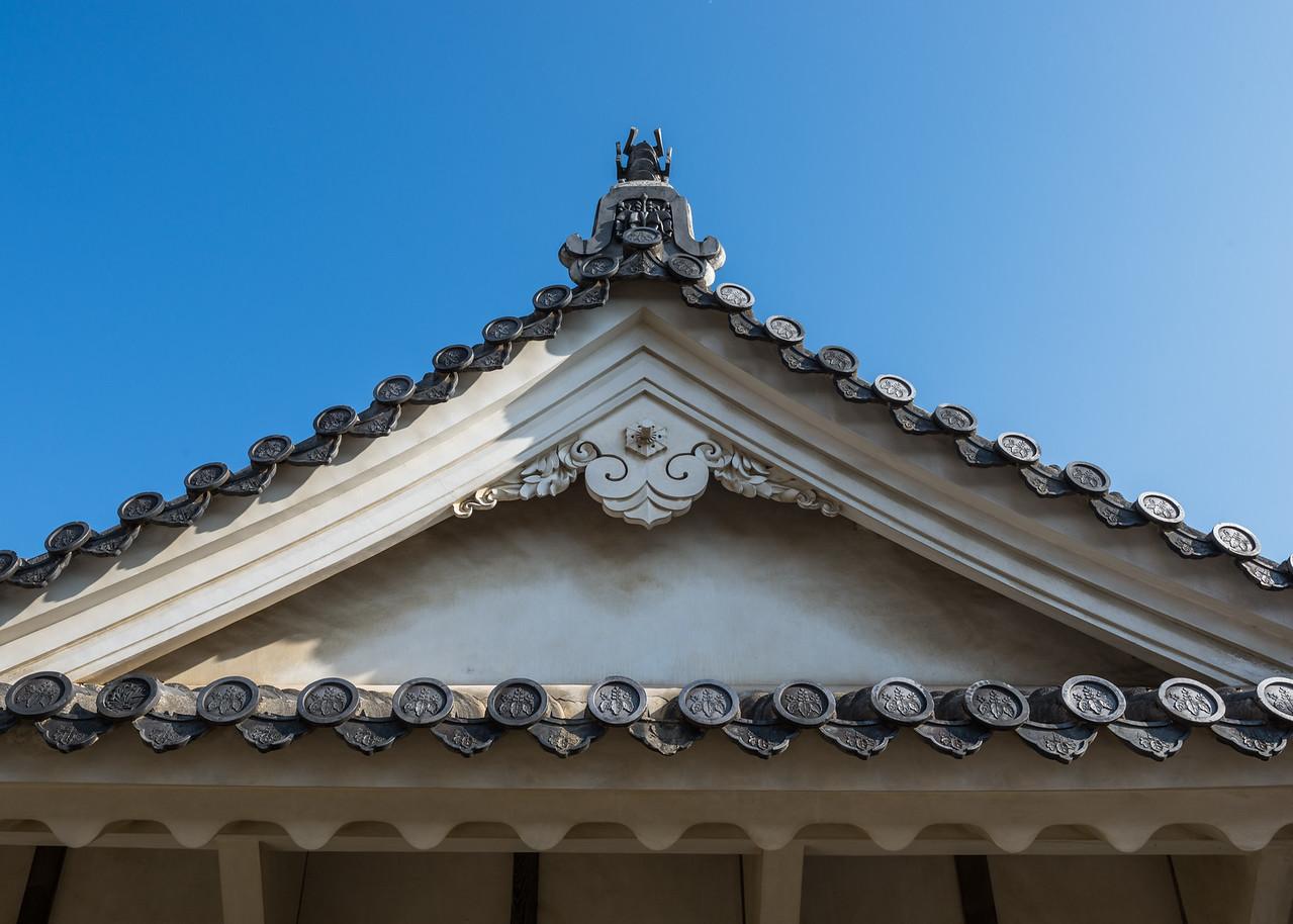 Details at Himeji Castle