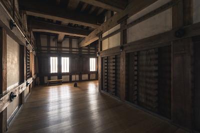 A Hallway in Himeji Castle