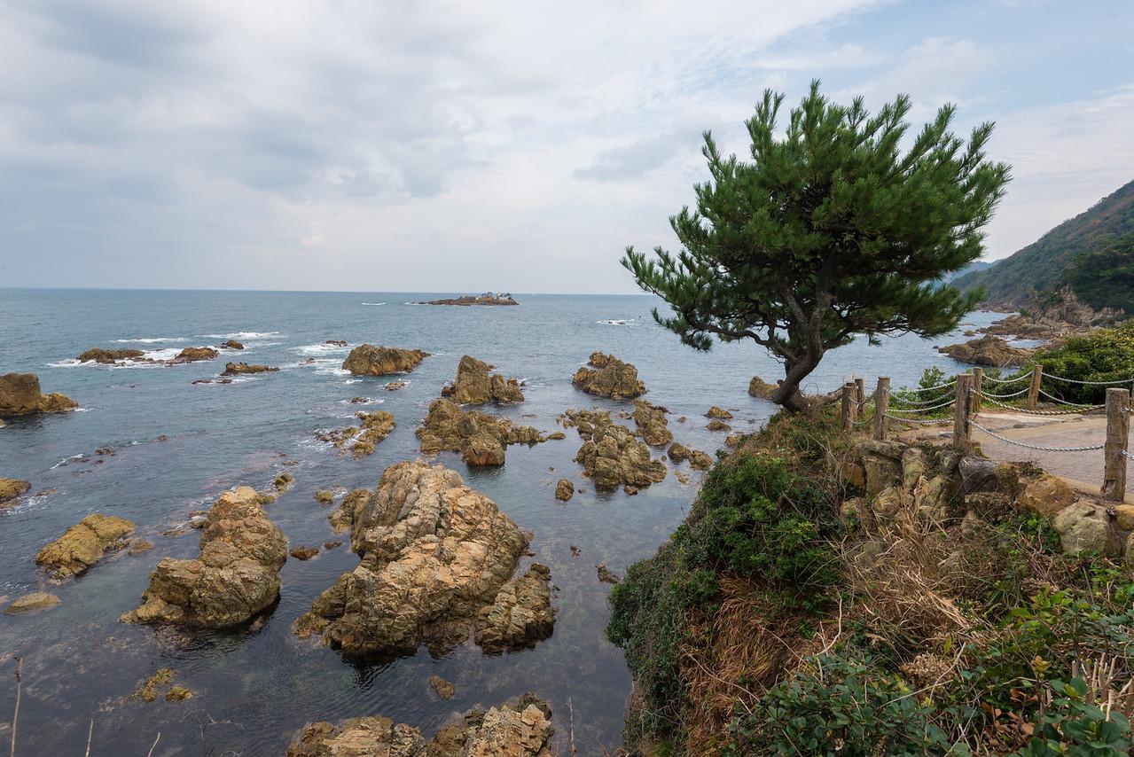 Japan Sea from Kinosaki Onsen