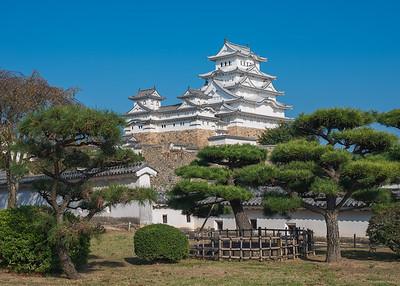 Himeji Castle & Blue Skies