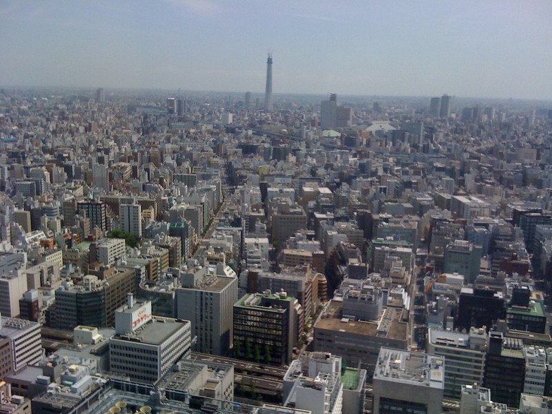 Tokyo city - East view