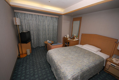 My room at the Hanno Prince Hotel.