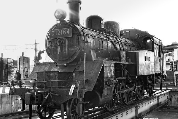 Oigawa Railway: C12 Class Steam Engine made in Japan 1930's - 1940's