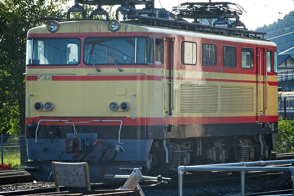 Oigawa Railway: Seibu Class E34 circa 1985
