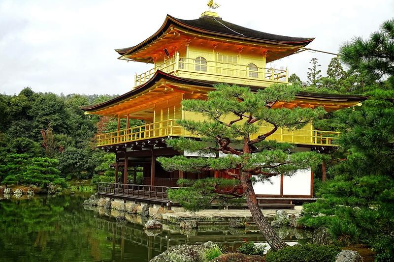 Kinkakuji, The Golden Temple.