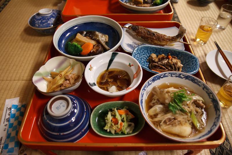 Last dinner in Akita. Tomorrow we head for Kyoto!