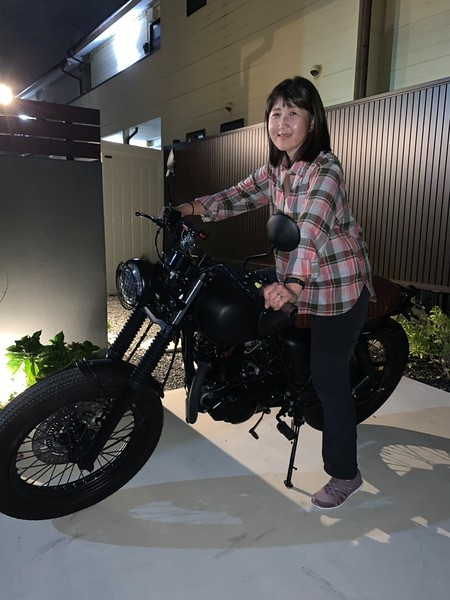 Biker Chiyoko!