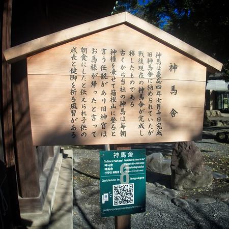 Mishima Taisha Shrine © Chiyoko Meacham