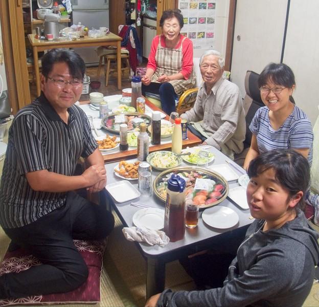 A family Dinner! © Chiyoko Meacham