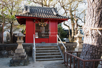 Shinto shrine on Bentenjima Island