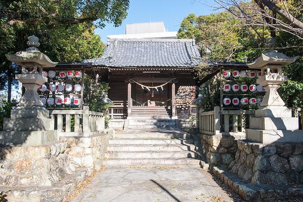 Small shrine in Hamamatsu