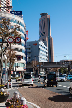 Downtown Hamamatsu, Japan
