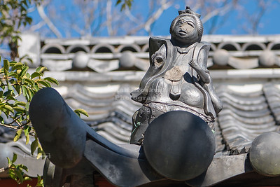 Kamoe-ji Temple in Hamamatsu, Japan