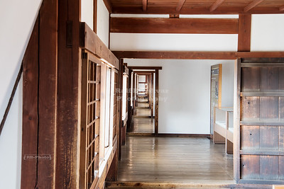 The Long Corridor at Himeji Castle