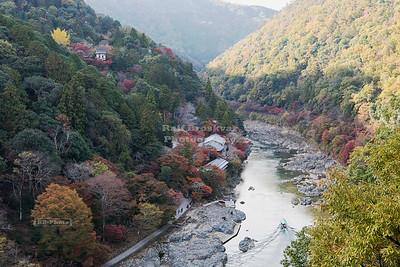 Hozu River Valley near Arashiyama