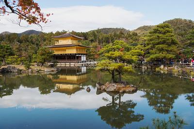 Kinkaku-ji - The Golden Temple in Kyoto, Japan