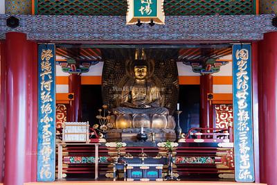 Gold Buddha at Kiyomizu-dera