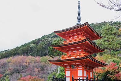 Koyasu Pagoda, Kiyomizu-dera, Kyoto