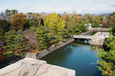 Moat at the Nijo-Jo Castle, Kyoto