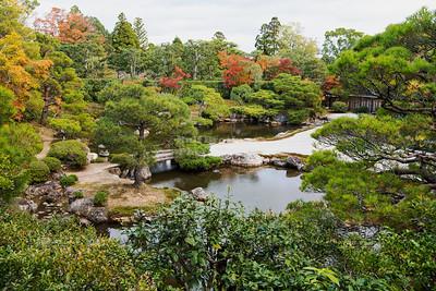 Garden at the Ninna-ji Temple, Kyoto