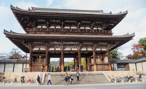 Main Gate of the Ninna-ji Temple Kyoto