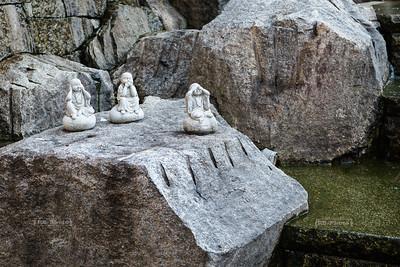 Three Wise Monks at Rokkaku-dō Kyoto