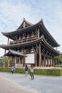Sanmon Gate at Tofukuji Temple Kyoto