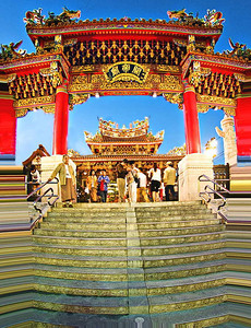 Chinese Temple Gate2-4662web680