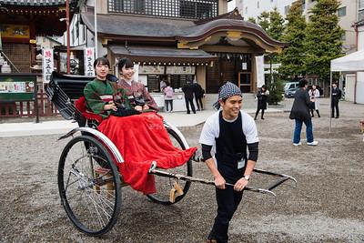 Rickshaw at the Senso-ji Temple Tokyo