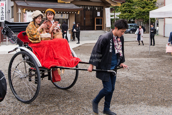 Rickshaw at the Senso-ji Temple