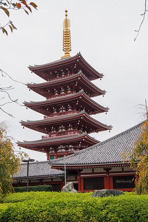 Pagoda at Senso-Ji, Tokyo