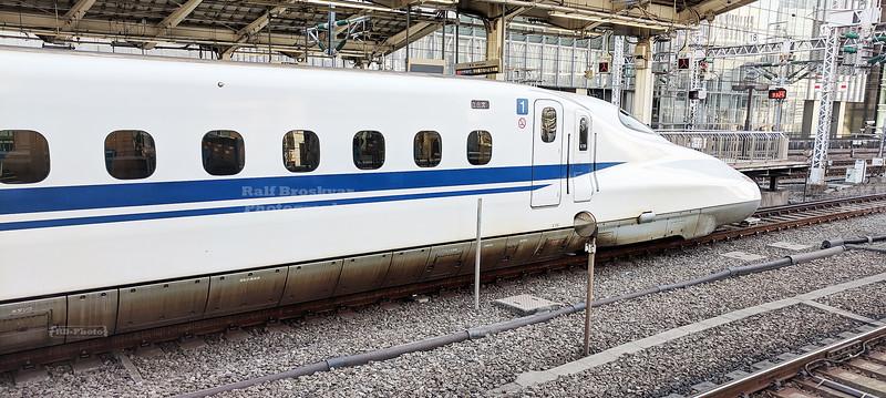 Shinkansen Bullet Train at Tokyo Station
