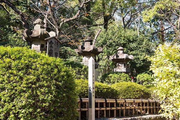 Graveyard of six Tokugawa Shoguns